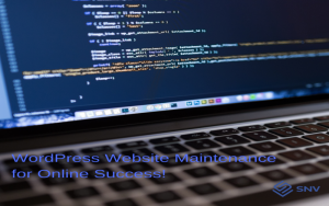 WordPress Maintenance Service - SNV Services